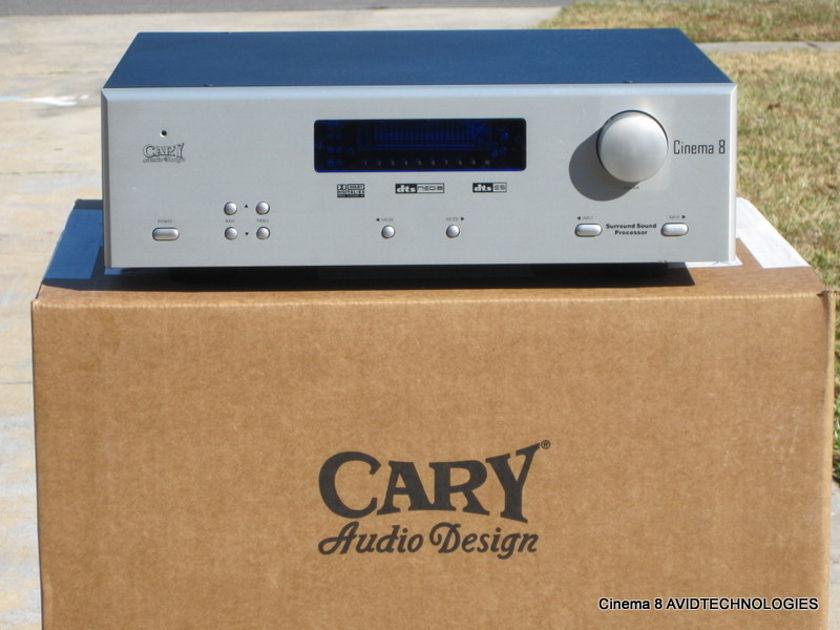 Carey Audio Design cinema 8