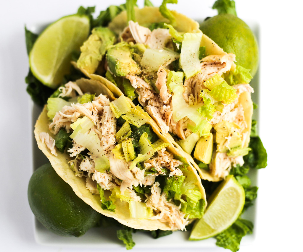 Zesty Low-Carb Chicken Tacos
