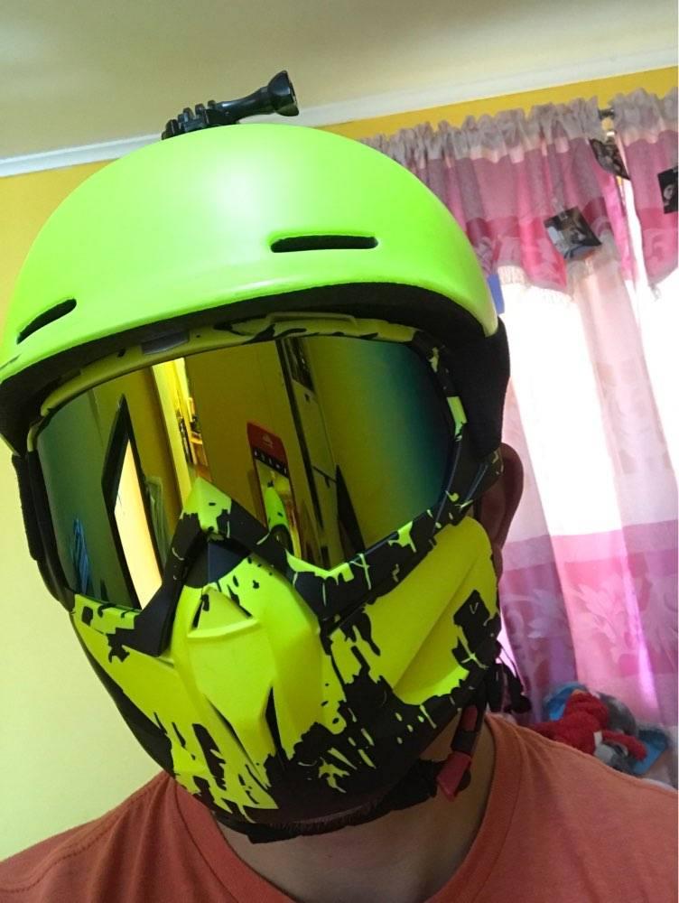 masque amovible trottinette electrique paintball securite