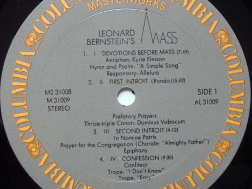 Columbia / LEONARD BERNSTEIN,  - Bernstein's MASS, MINT, 2LP Box Set!
