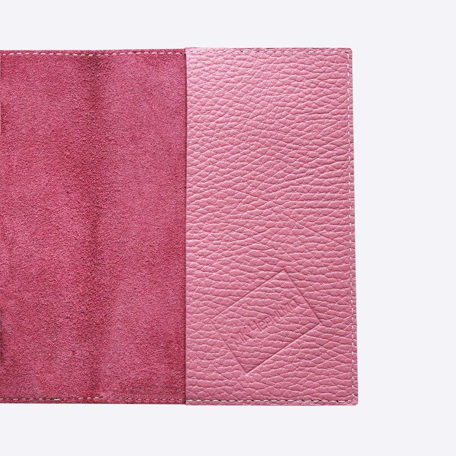 Обложка для паспорта БУЛЬДОЖКА