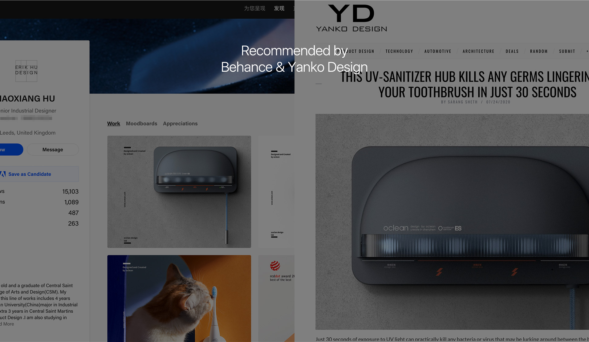 recommended by behance yanko design