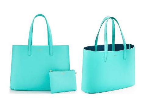 Tiffany Blue Shopper Tote