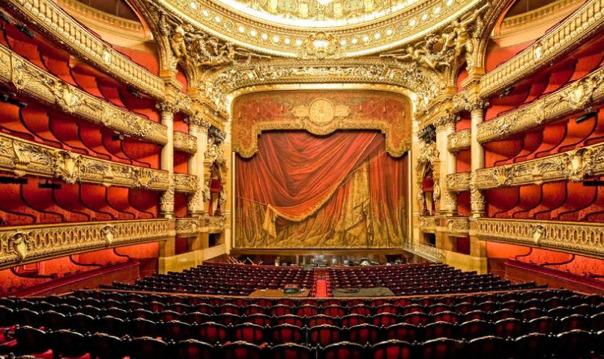Париж: посещение Опера Гарнье