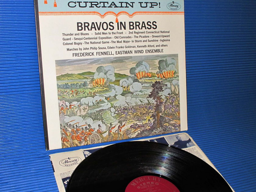 "SOUSA / GOLDMAN / ALFORD / Fennell  - ""Bravos In Brass"" -  Mercury Living Presence 1963 early pressing"