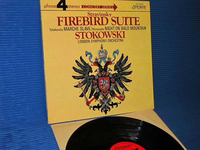 "STRAVINSKY/Stokowski -  - ""The Firebird Suite "" -  London phase 4 1969"