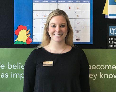 Ms. Megan Walsh , Infant Manager