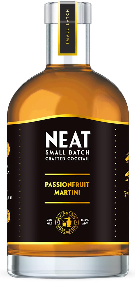 Neat Passionfruit Martini
