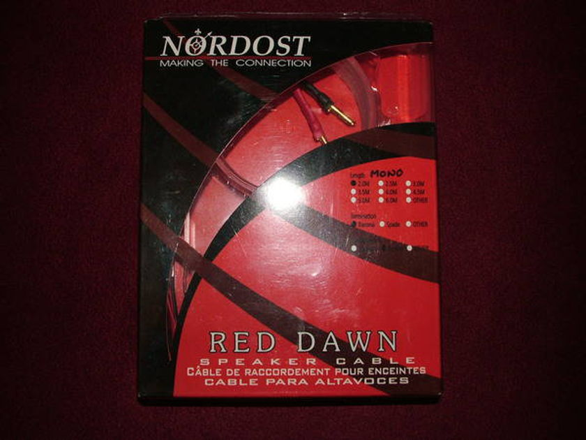 Nordost Red Dawn 2 meter bi-wire/ single cable