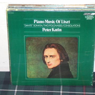 Piano Music of Liszt