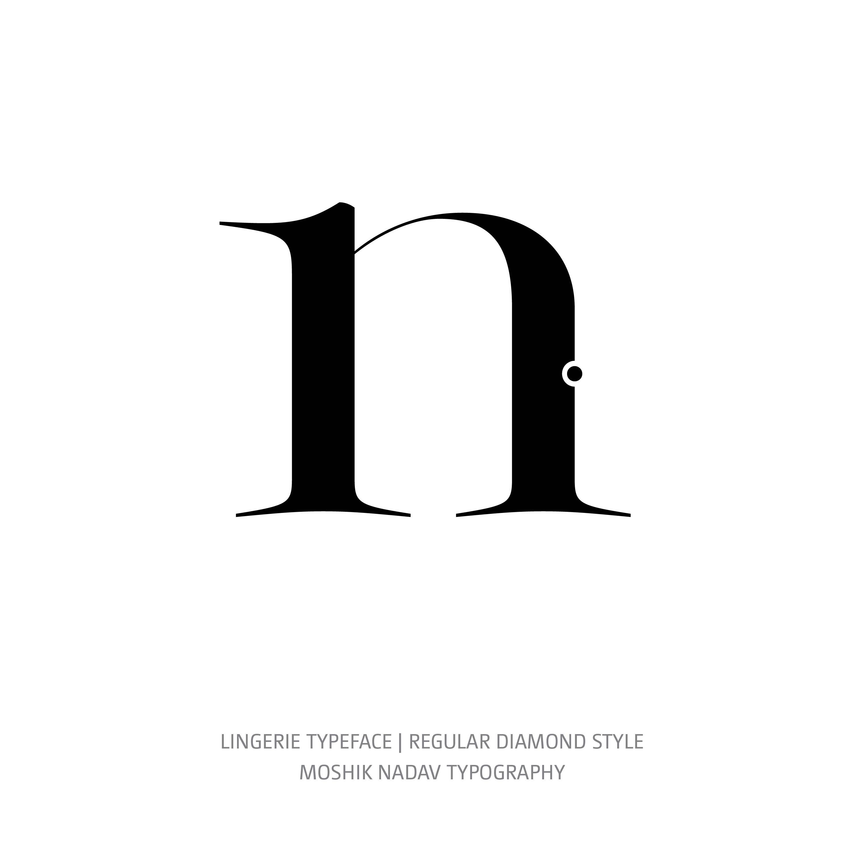 Lingerie Typeface Regular Diamond n
