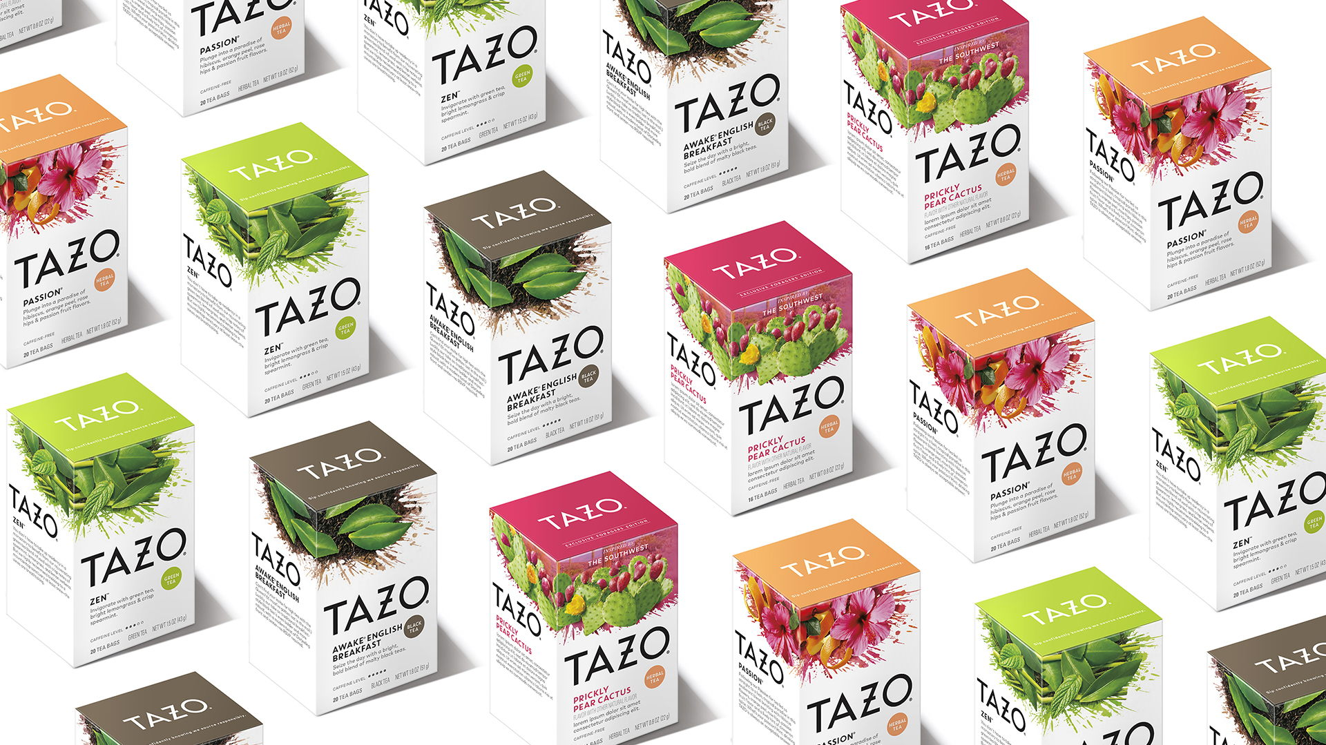 DDW's Tazo Brand Update Is More Refreshing Than A Brisk Cup Of Tea