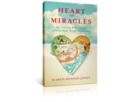 Signed First Edition of Heart of Miracles book