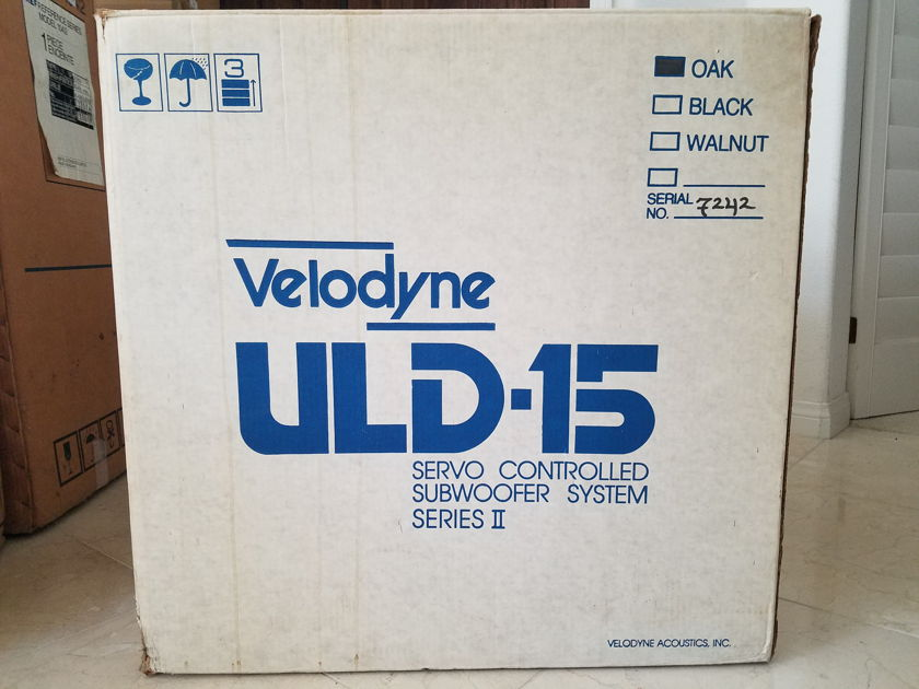 Velodyne ULD-15 Series II with Servo Controller, Manuals, etc.