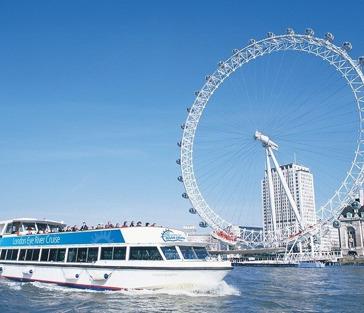 Лондон: круиз по Темзе + Лондонский Глаз