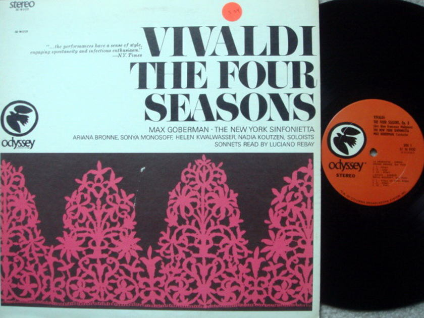 Columbia Odyssey / MAX GOBERMAN,  - Vivaldi the Four Seasons, NM!