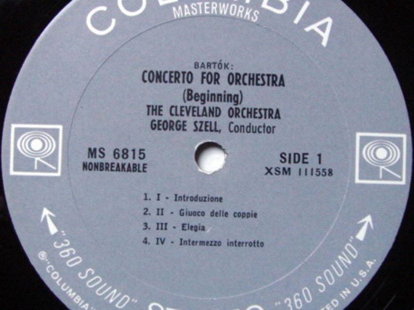 Columbia 2-EYE / SZELL, - Bartok Concerto for Orchestra, MINT!