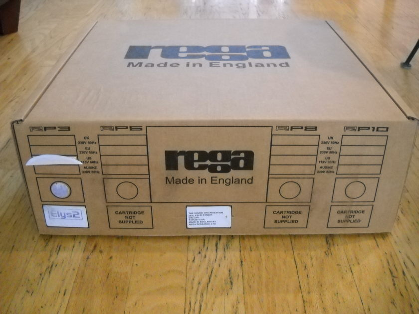 Rega RP3 Turntable W/ Elys New Sealed!