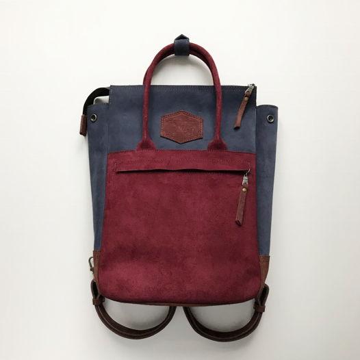 Кожаный рюкзак-сумка Urban Pack Cherry Pie
