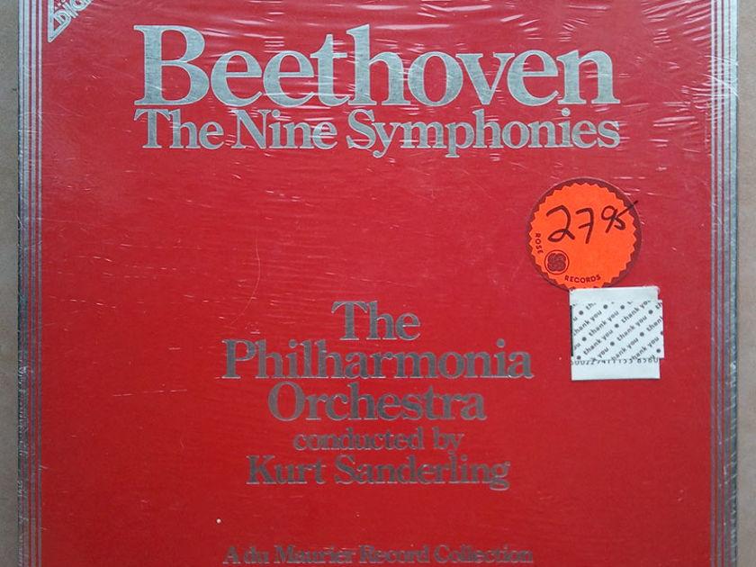 Sealed ANGEL Digital   KURT SANDERLING/BEETHOVEN - The Nine Symphonies / 8-LP Box Set