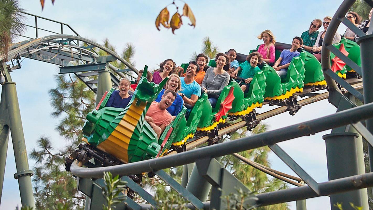 legoland roller coaster