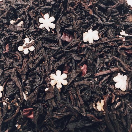 Шоколадно-ягодный купаж на основе чёрного чая