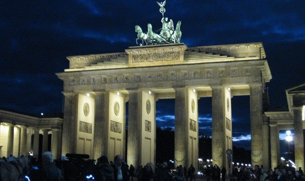 Берлин вечерний
