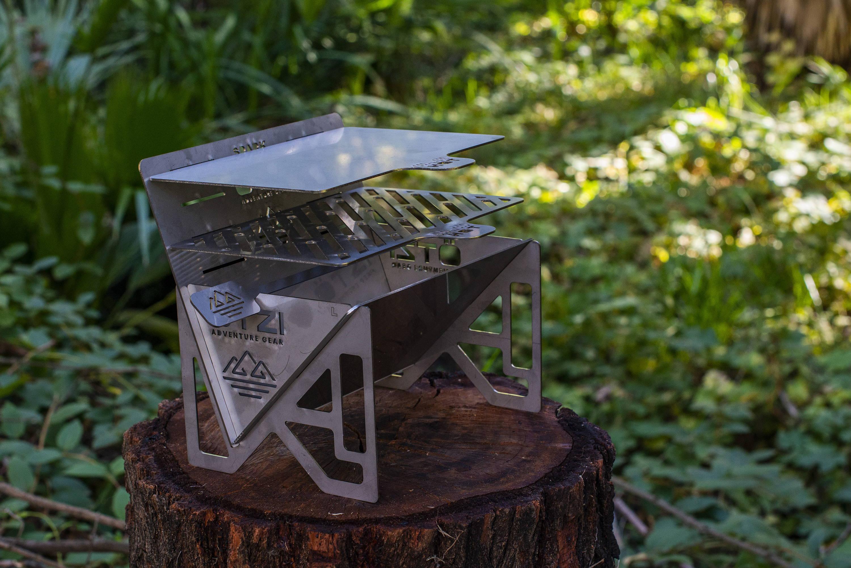 Camping bbq grill, Camping smores, Charcoal grill smoker combo