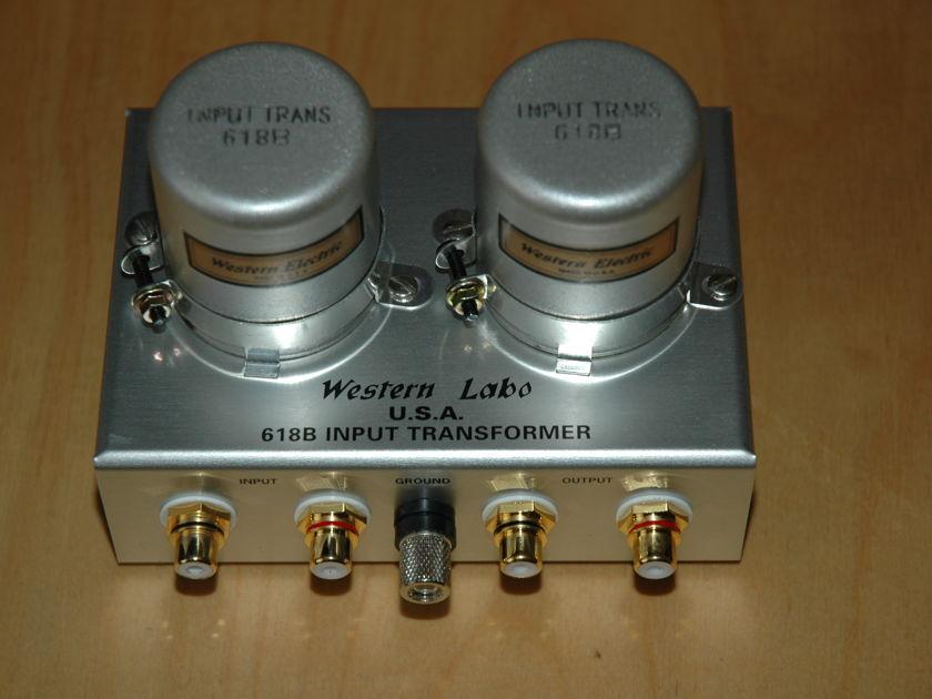 Western Labo  318B step up for MC cartridge