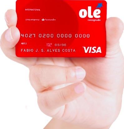 Conheça o cartão de crédito consignado Olé