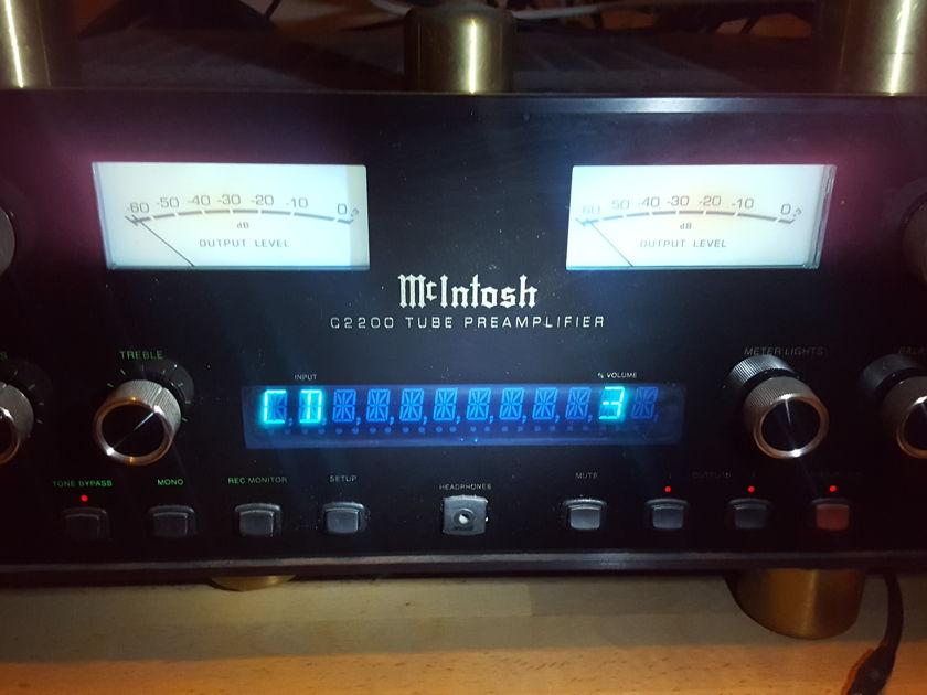 mcintosh 2200 Mac c2200 preamp