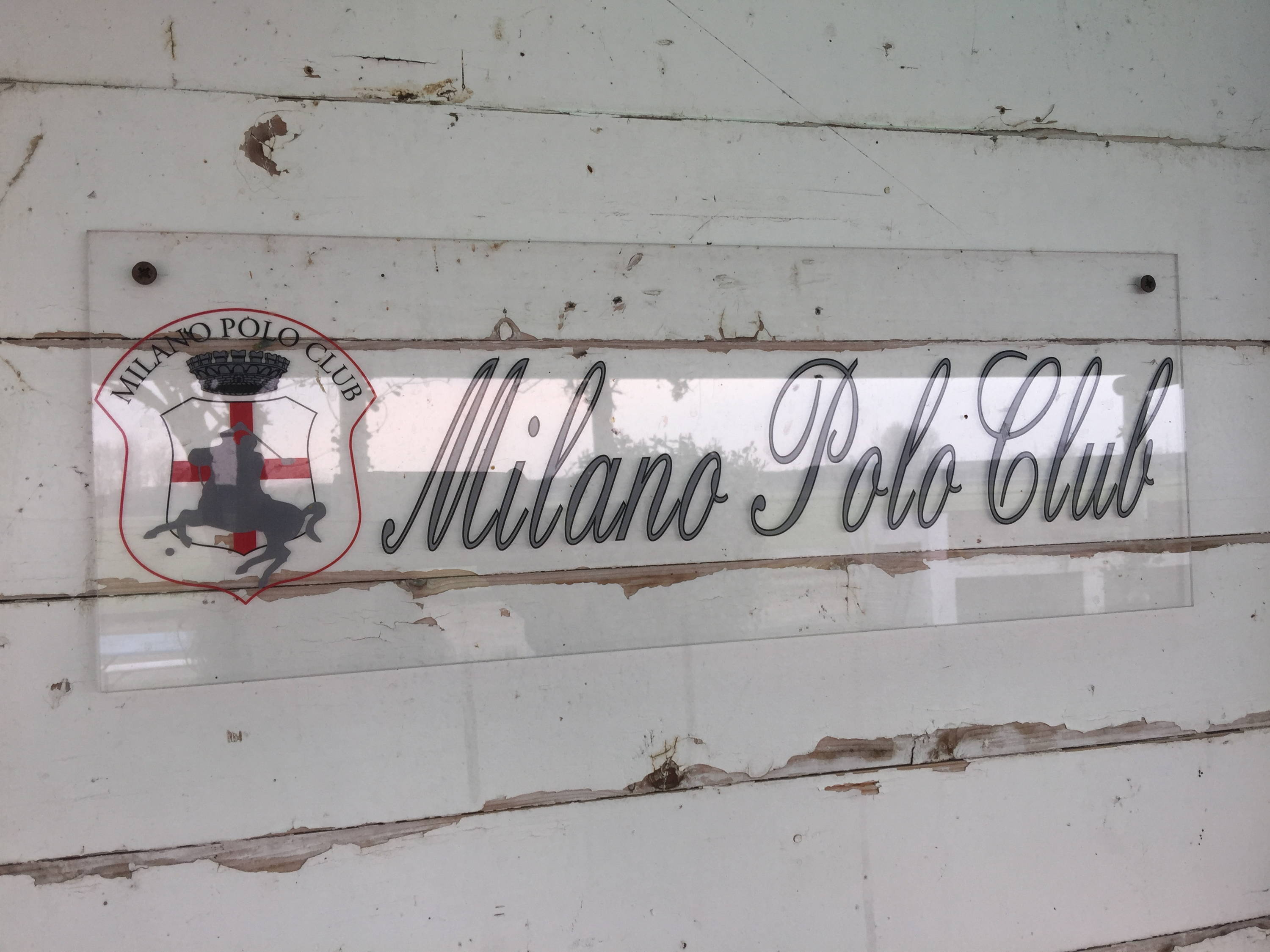 Sign of the Milano Polo Club