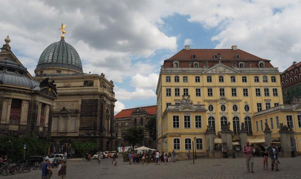 Обзорная пешеходная экскурсия по Дрездену