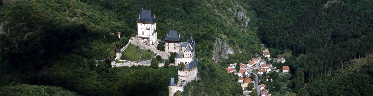 Королевские замки Карлштейн и Кршивоклат (ноябрь–март)