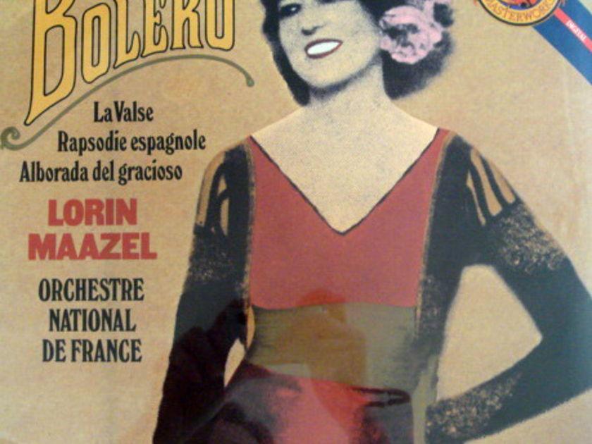 ★Sealed★ CBS / MAAZEL, - Ravel Bolero, La Valse!