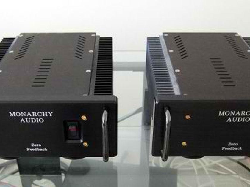 Monarchy Audio SM-70 Class-A Zero Feedback 70-watt Monoblocks