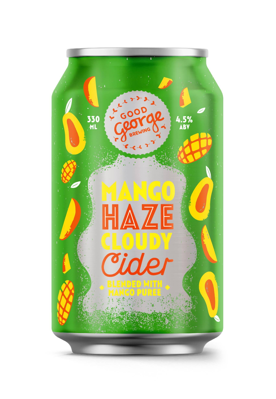 Mango Haze Cloudy Cider Can