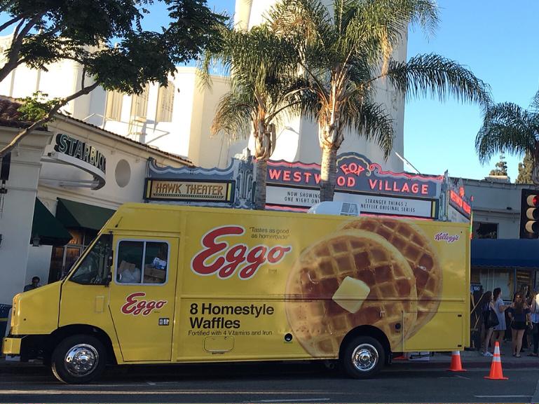 Eggo Food Truck with Power Tech Generators
