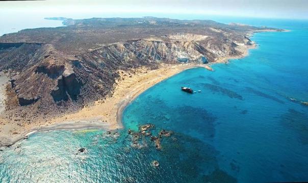 Остров Куфониси из района Ираклиона