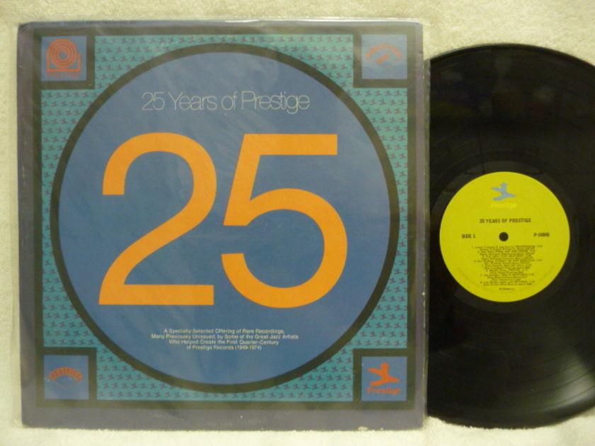25 YEARS OF PRESTIGE  - PRESTIGE  LP LOW PRICE