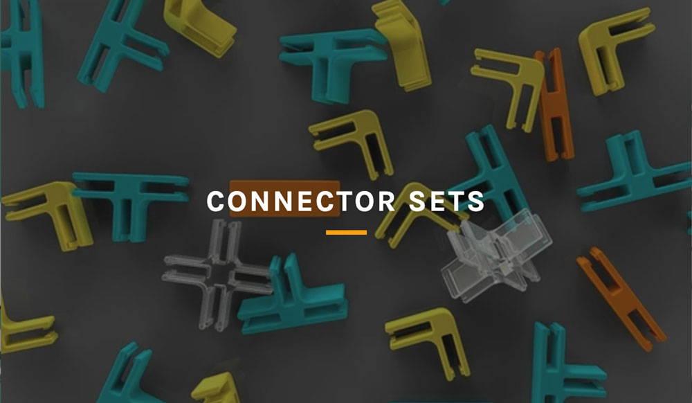 3duxdesign assorted cardboard connectors