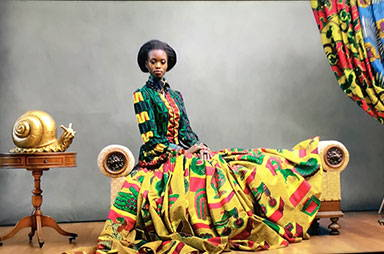 brief history of african wax prints