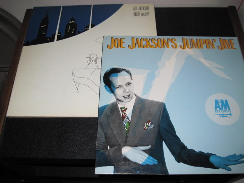 Joe Jackson LPs -lot of 2- - Jumpin Joe, Night and Day