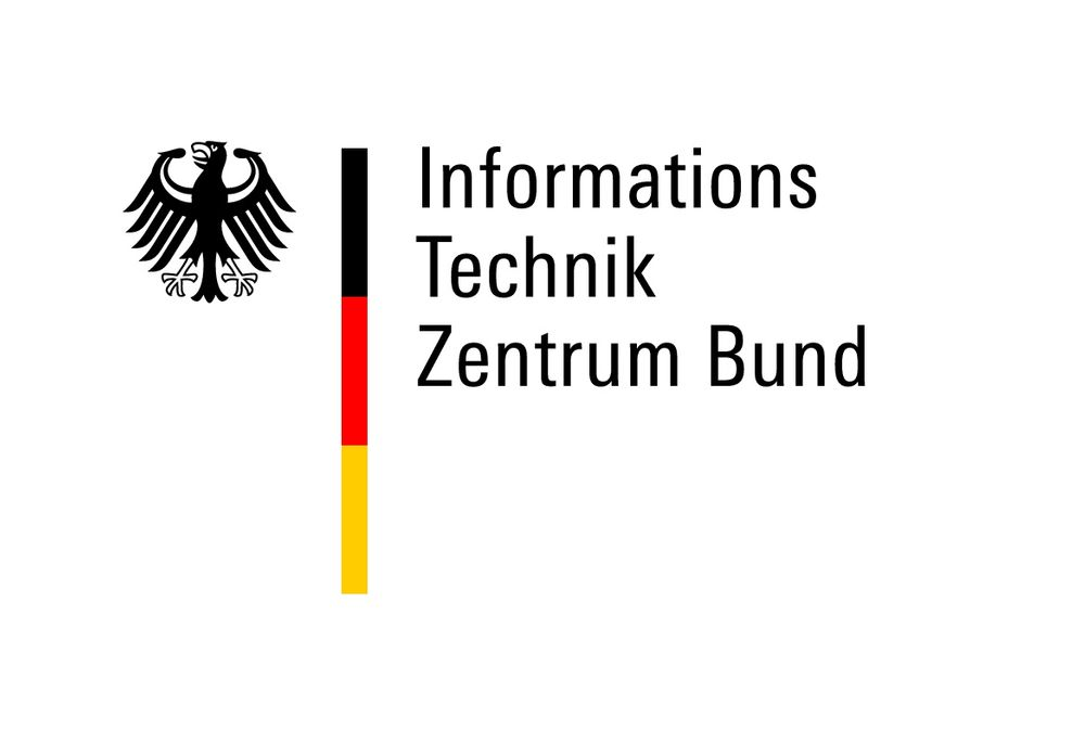 Logo informations technik zentrum bund