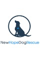 logo for our partner New Hope Dog Rescue