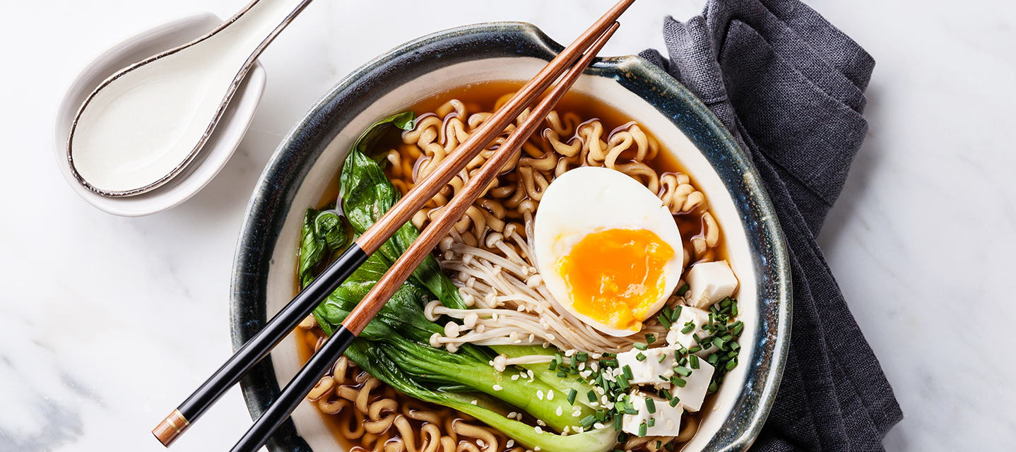 Plus up your ramen in just a few minutes