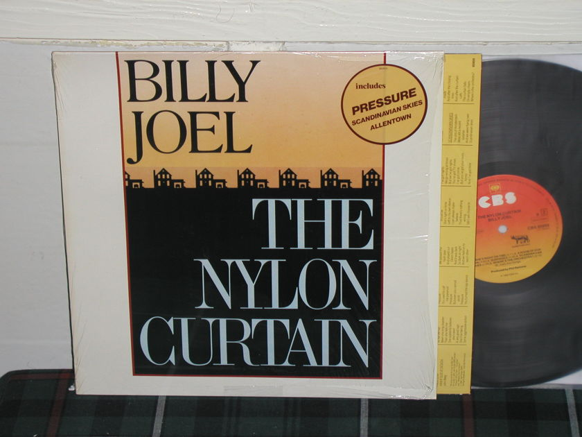 Billy Joel  -  The Nylon Curtain Import   LP Holland press w/sticker