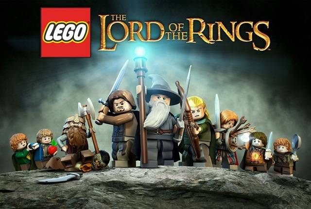lego lord of the rings theme