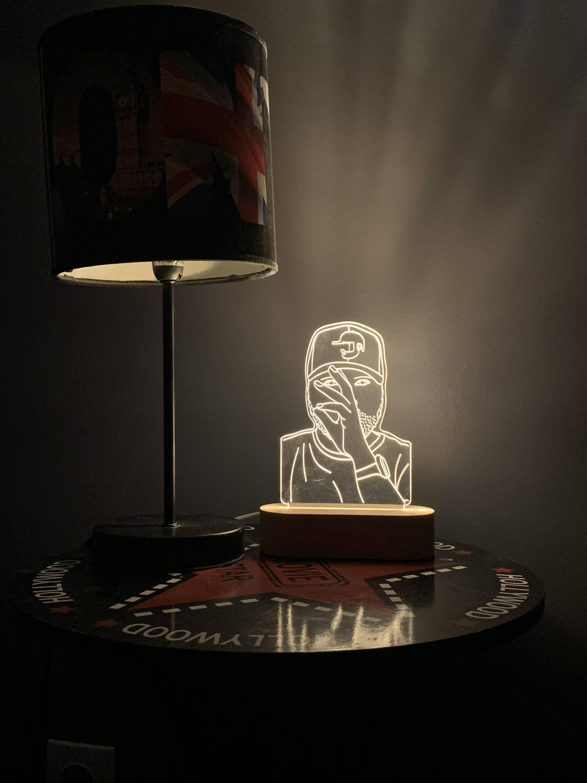 Lampe 3D Personnalisée