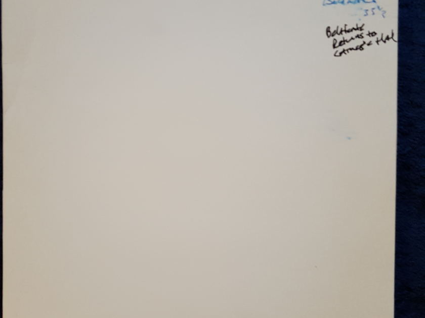 HARRY PEARSONS PRIVATE COLLECTION  - HARRY BELAFONTE RETURNS TO LSC 6007 TEST PRESSINGS 2 SINGLE SIDED 33rpm MAKE AN OFFER